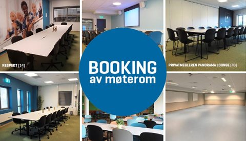 Booking av møterom