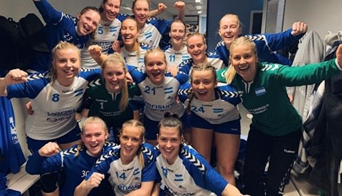 Seriestart for damelaget!