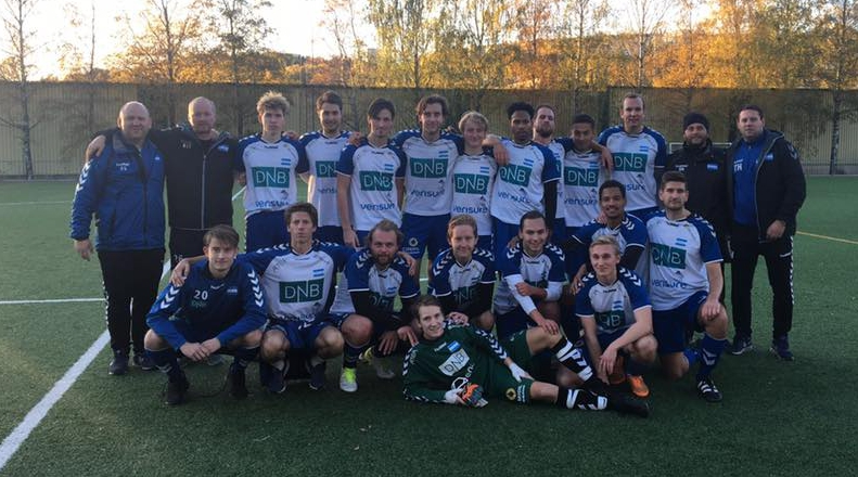 A-laget i Obos cup finale