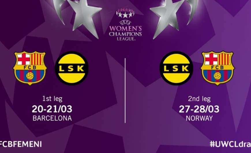 Womens Champions League i Storstua