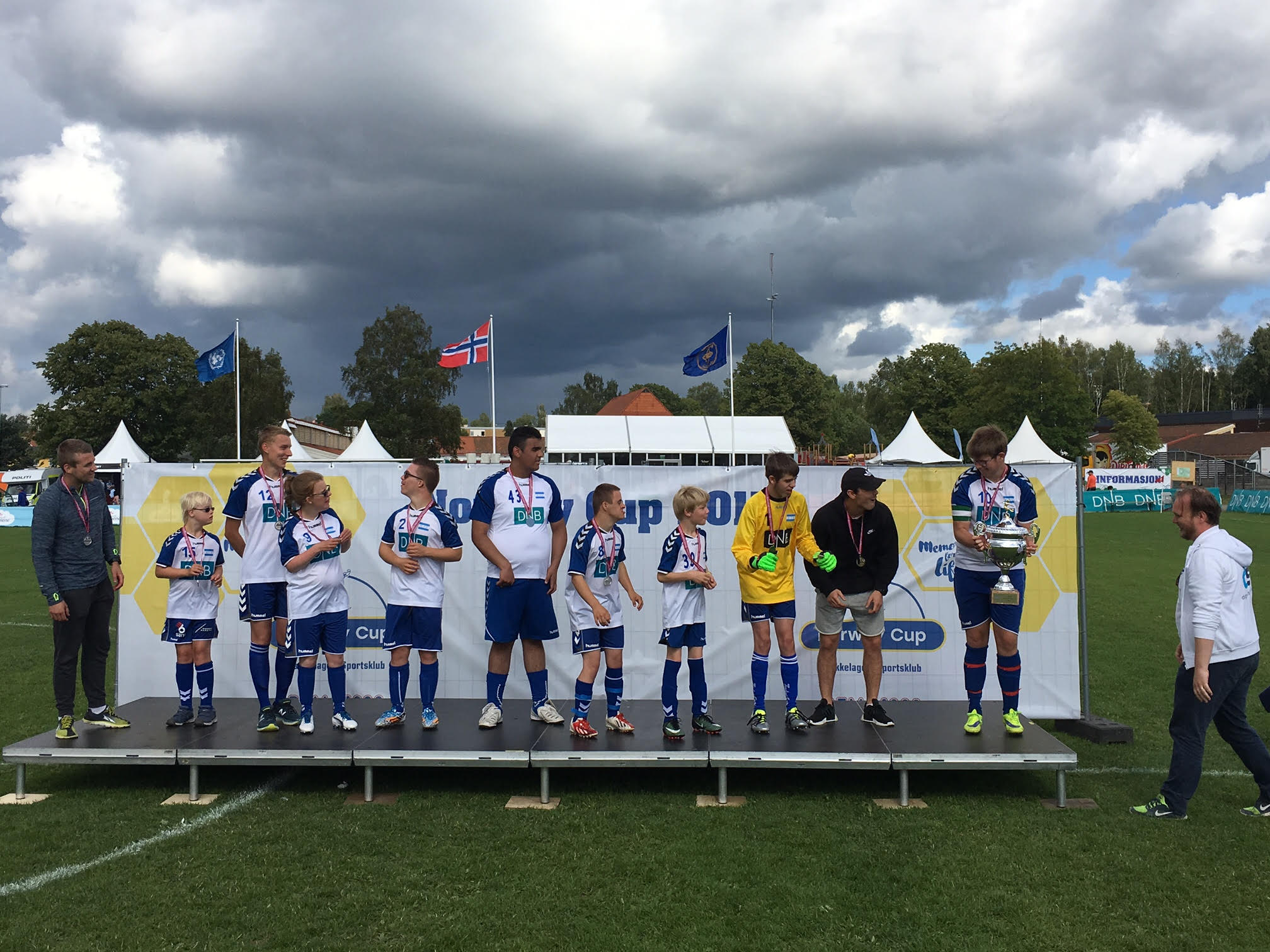 Norway Cup-sølv for Nordstrand Allsport!
